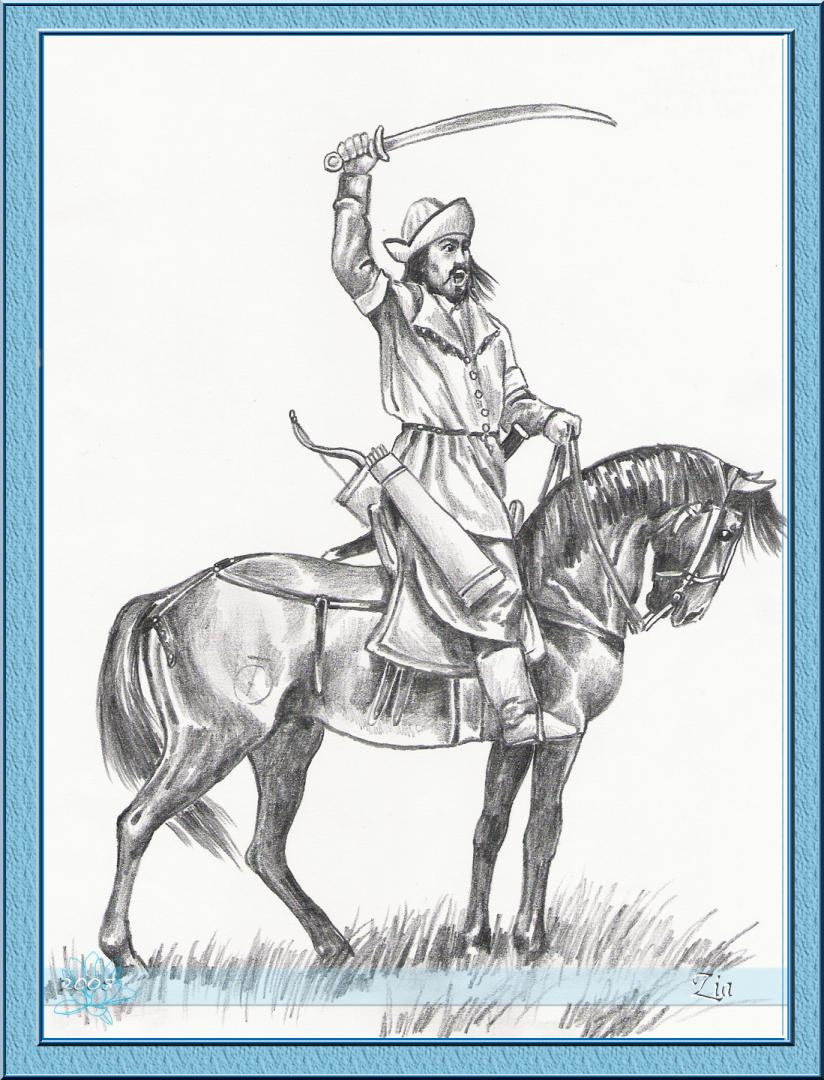 rytir na koni 16