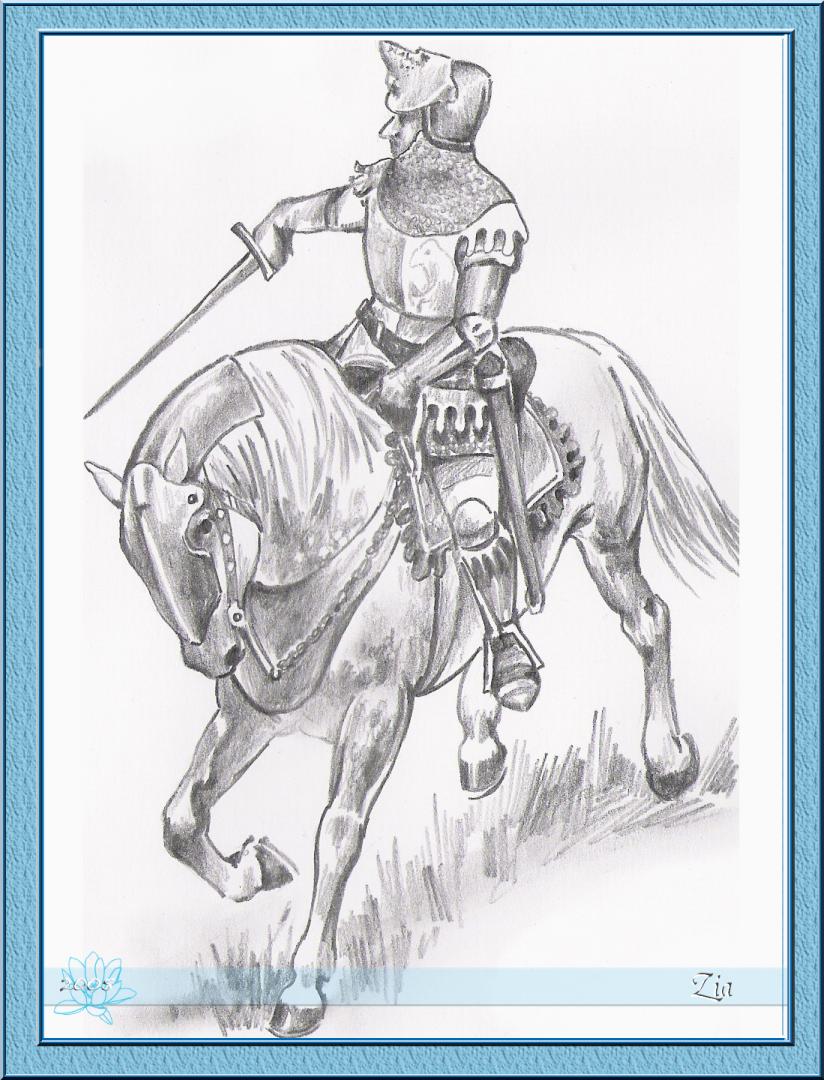 rytir na koni 18