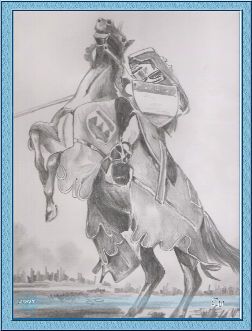 rytir na koni 24