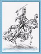 rytir na koni 13