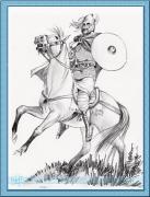 rytir na koni 23