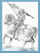 rytir na koni 25
