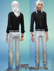 AkaiCz©2014-jeans white