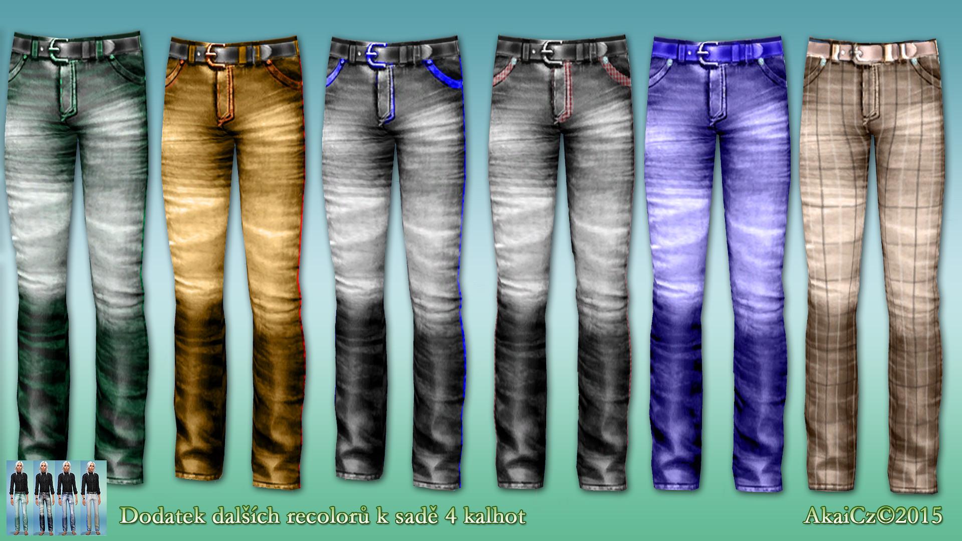jeans vetsi kolekce